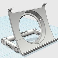 Small Nexus 6 Charge Cradle 3D Printing 112149