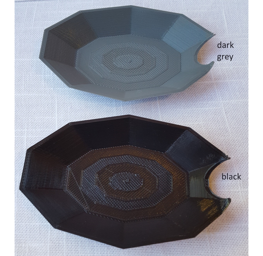 Low Poly Spoon Rest to Keep Your Stove Clean 3D Print 112216