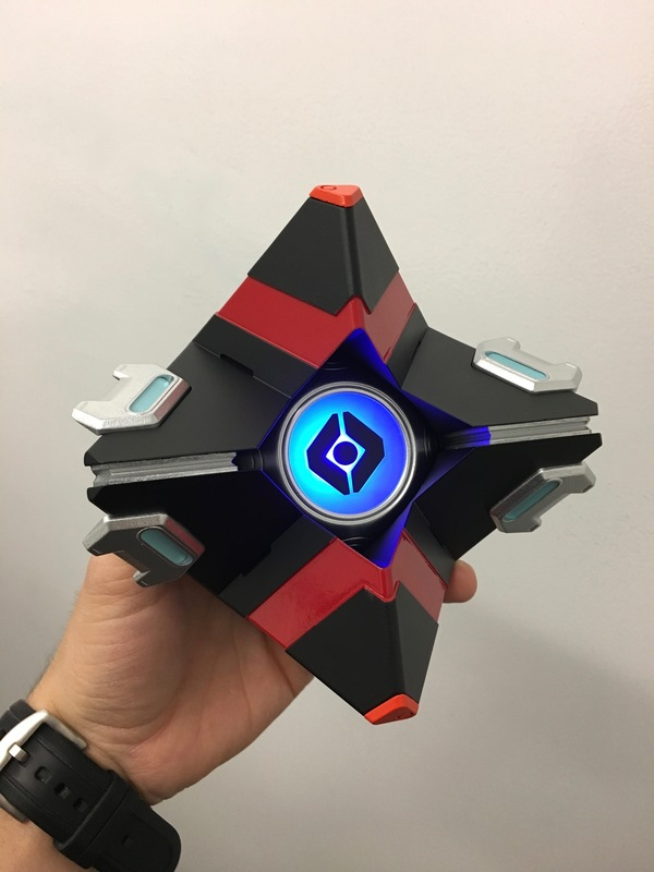 Medium Ghost // Destiny 3D Printing 112293