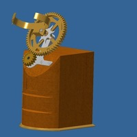 Small Recharge a mechanical watch 3D Printing 112308