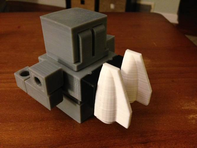 Mech City: Vehicle Set 3D Print 112448