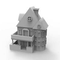 Small House 3D Printing 112472