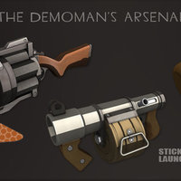 Small Grenade Launcher - Team Fortress 2 - The Demoman  3D Printing 112608