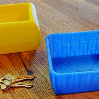 Small 2 small containers 3D Printing 112709