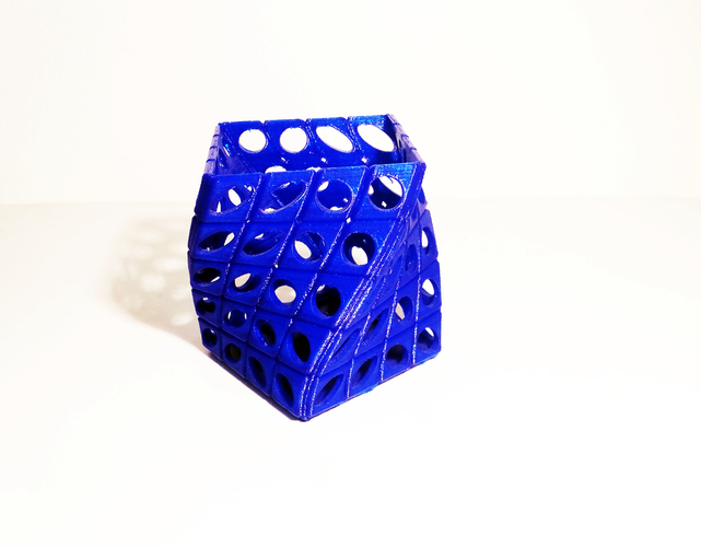 PEN HOLDER TWIST V2 3D Printing 112721
