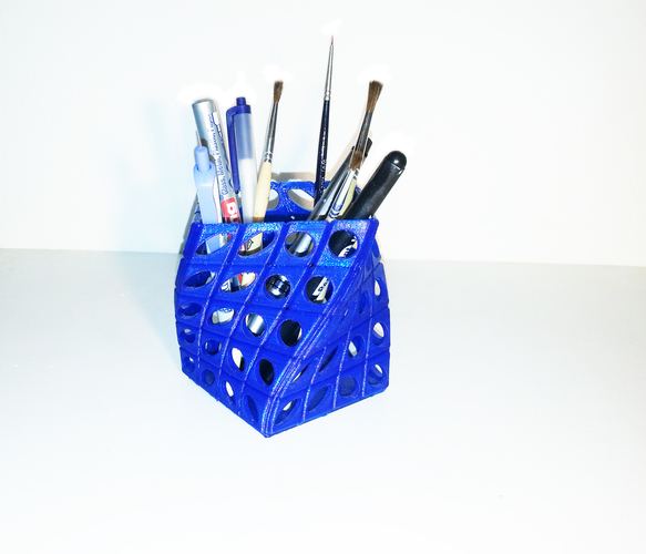 PEN HOLDER TWIST V2 3D Printing 112724