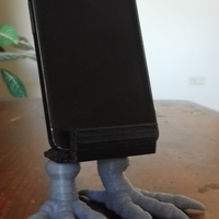 Small Bird Feet Universal Phone Stand. 3D Printing 112763