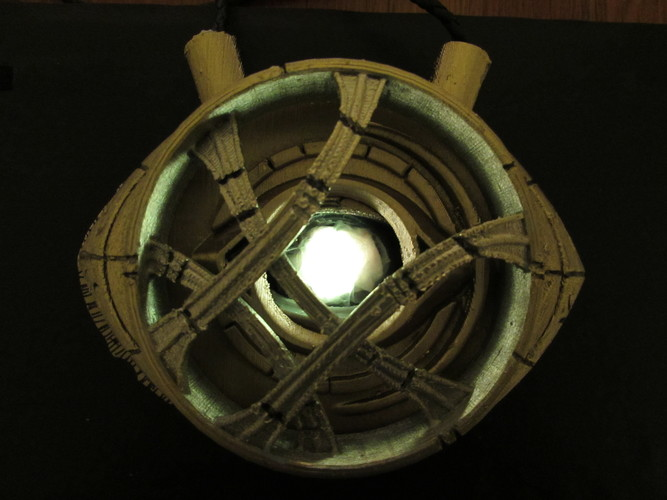 Eye of Agamotto - Doctor Strange (with Opening Eye) 3D Print 112797