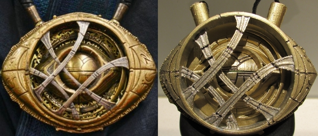 Eye of Agamotto - Doctor Strange (with Opening Eye) 3D Print 112799