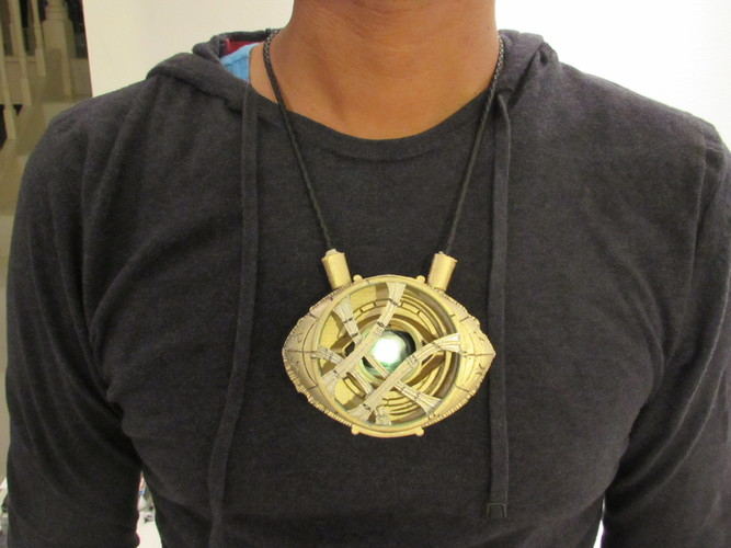 Eye of Agamotto - Doctor Strange (with Opening Eye) 3D Print 112800