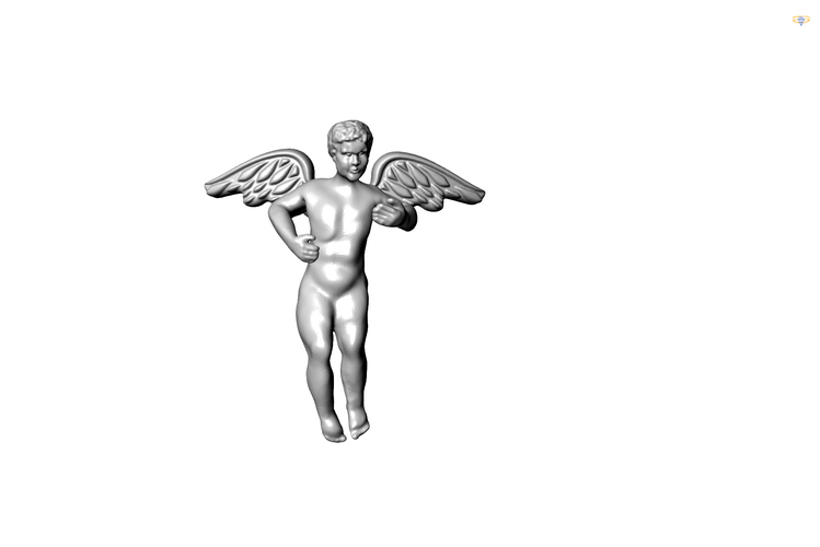 Angel for jewellery 3D Print 112899