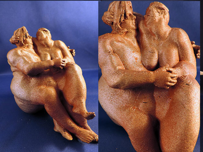 Fubble Couple 3D Print 112925
