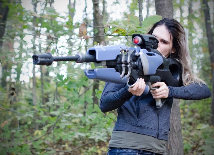 3d Printed Widowmaker S Widow S Kiss Collapsible Sniper