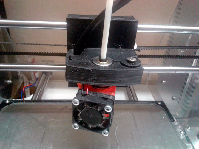 Quick Release for extruder 3D Print 112992