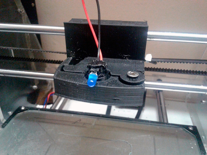 Quick Release for extruder 3D Print 112995