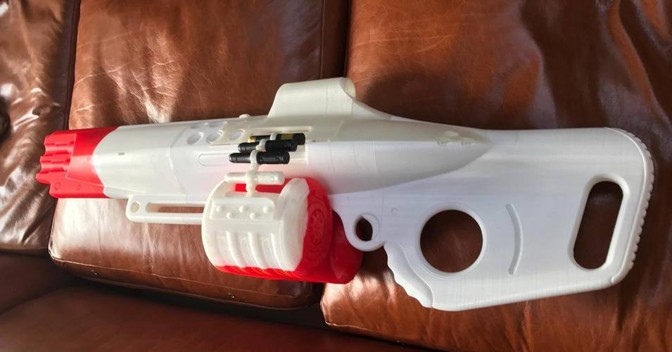 The Nemesis Star, Destiny Exotic Machine Gun 3D Print 113048