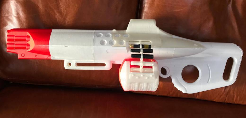 The Nemesis Star, Destiny Exotic Machine Gun 3D Print 113049