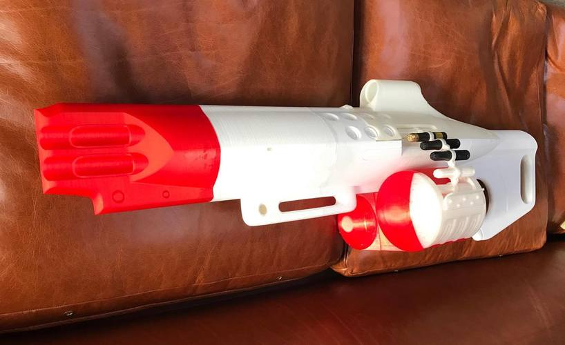 The Nemesis Star, Destiny Exotic Machine Gun 3D Print 113050