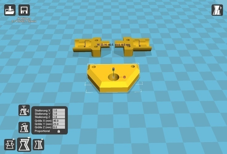 Trailer Crawler Scaler Truck Axle Hitch 3D Print 113093