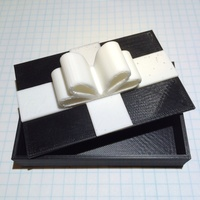 Small Gift Card Box 3D Printing 113113