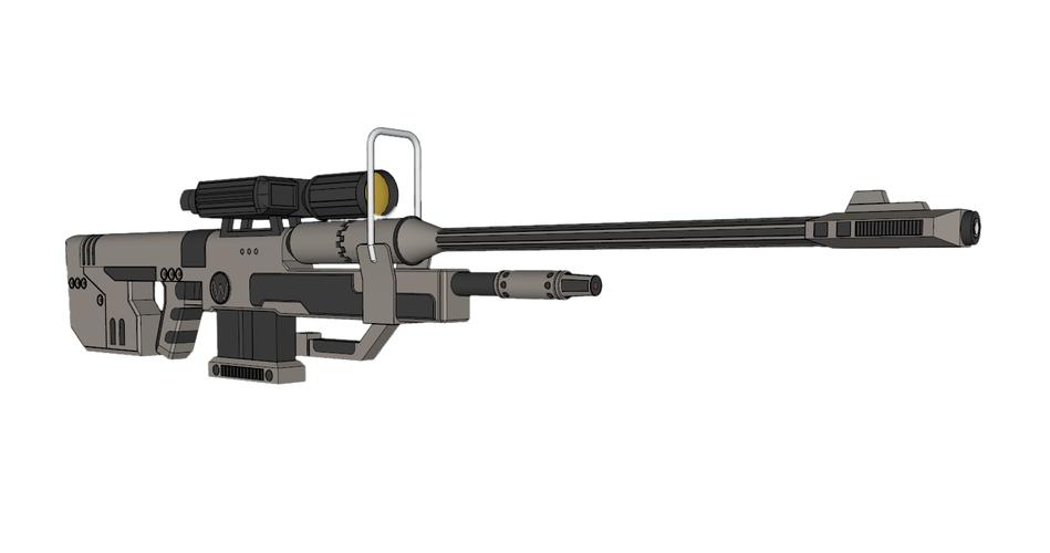 SRS 99 D Sniper Rifle (Halo)