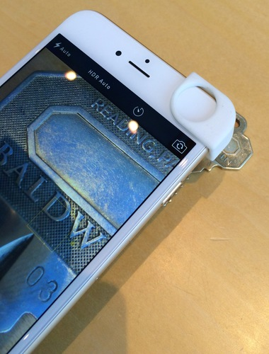 iPhone 6 / iPhone 6+ Macro Close-Up Lens Holder 3D Print 11318