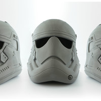 Small First Order Stormtrooper Helmet 3D Printing 113186