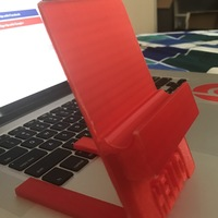 Small Iphone/ipad holder (2 pieces). Laptop/PC Mount 3D Printing 113237