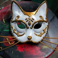 Small Splicer Cat Mask (Bioshock) 3D Printing 113375