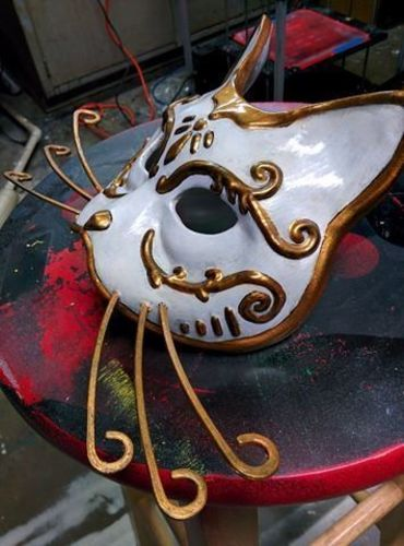 Splicer Cat Mask (Bioshock) 3D Print 113376