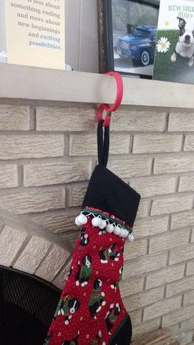 Christmas Stocking Holder 3D Print 113377