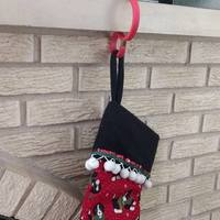 Small Christmas Stocking Holder 3D Printing 113377