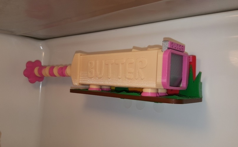 Butter Pig (Baconlicious Mix) 3D Print 113429