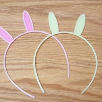 Small Bunny Ears Hair Band 3D Printing 113456