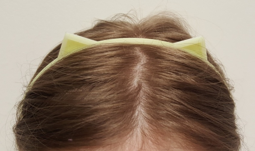 Cat Ears Hair Band 3D Print 113462