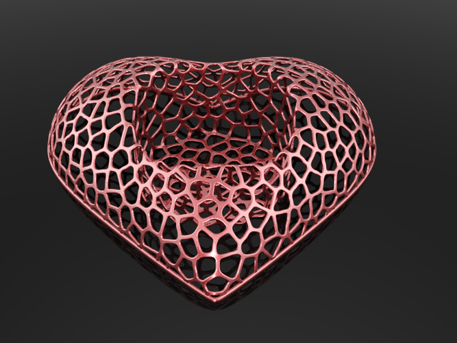 Heart Candle light 3D Print 113539