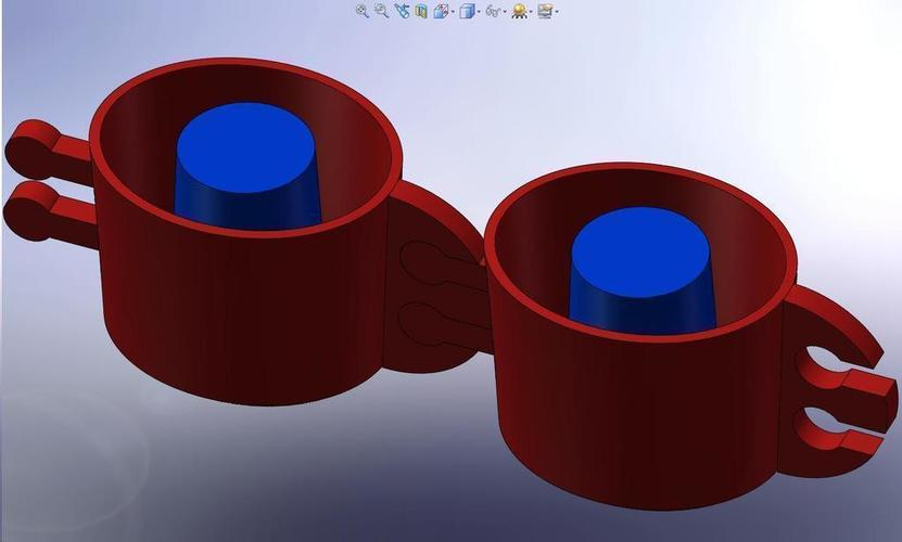 Shot Glass Ice Cube Tray Cup ...  3D Print 113557