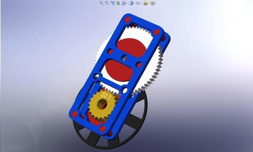 60 to 20 Reduction Gear Set 3D Print 113592