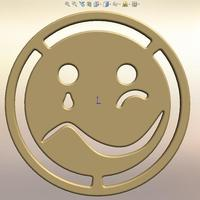 Small a Sad & Happy Face 3D Printing 113598