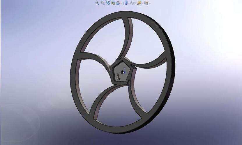 BoeBot Slasher Wheels 3D Print 113612