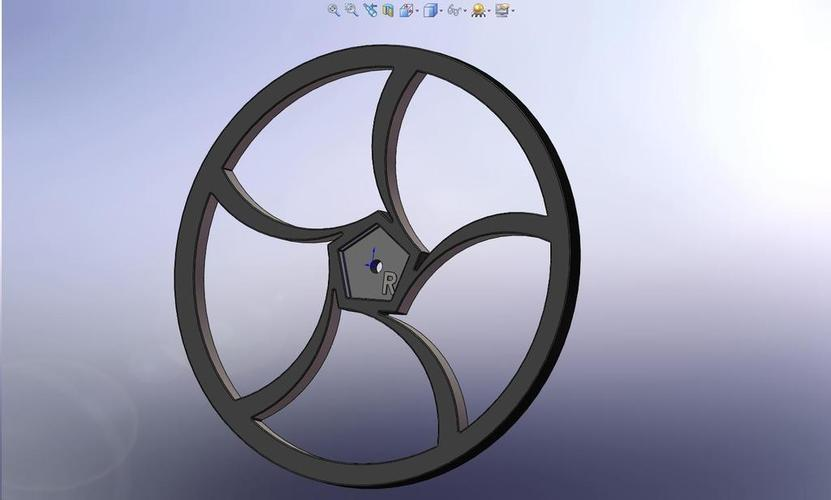 BoeBot Slasher Wheels 3D Print 113613