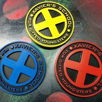 Small X-Men Badge 3D Printing 113668