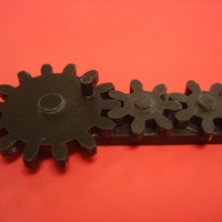 Small Rotating Gears 3D Printing 113733
