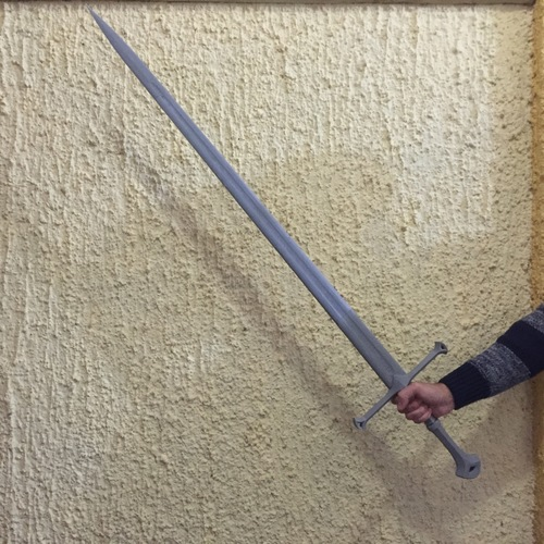 Andúril (Aragorn's sword) - Lord of The Rings 3D Print 113773