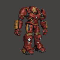 Small Iron Man HulkBuster - Avengers Age Of Ultron​ 3D Printing 113810