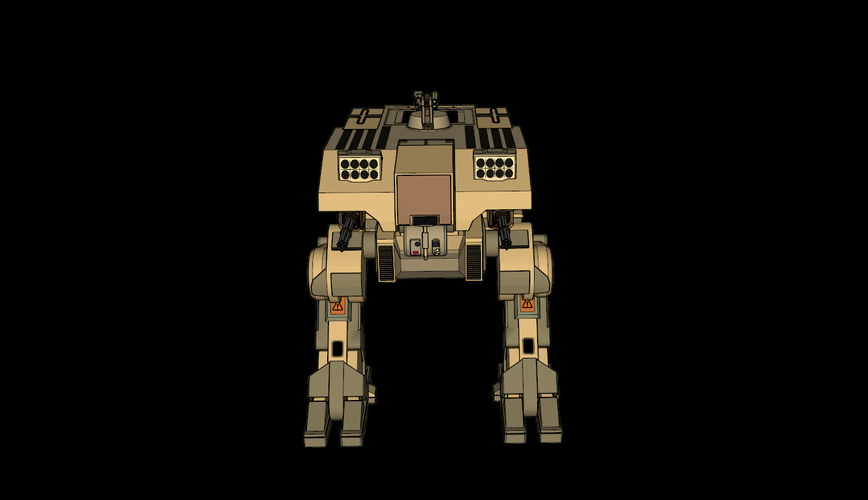 L-5 Riesig Battle Walker - Battlefield 2142 3D Print 113823