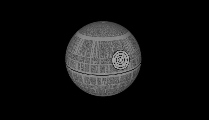 Death Star - Star Wars 3D Print 113836