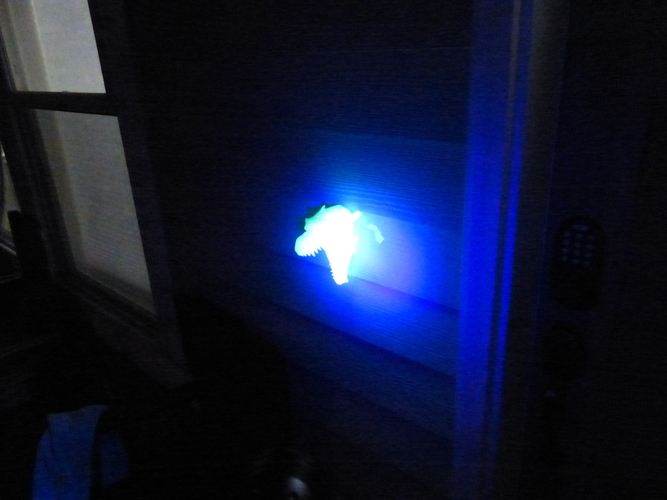 Dragon Head Doorbell Cover (GLOW IN THE DARK VERSION) 3D Print 113867