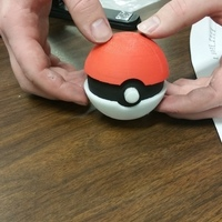 Small Pokeball 3D Printing 113997