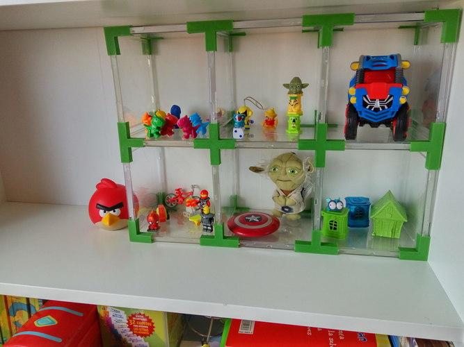 Doll's House // Toy Shelves with Recycled CD Cases. 3D Print 114004